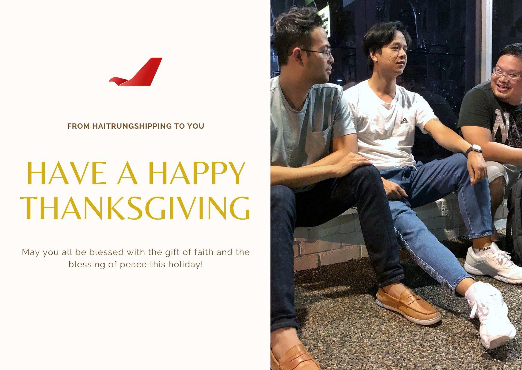 HTS quay số tri ân khách hàng nhân ngày Thanksgiving.