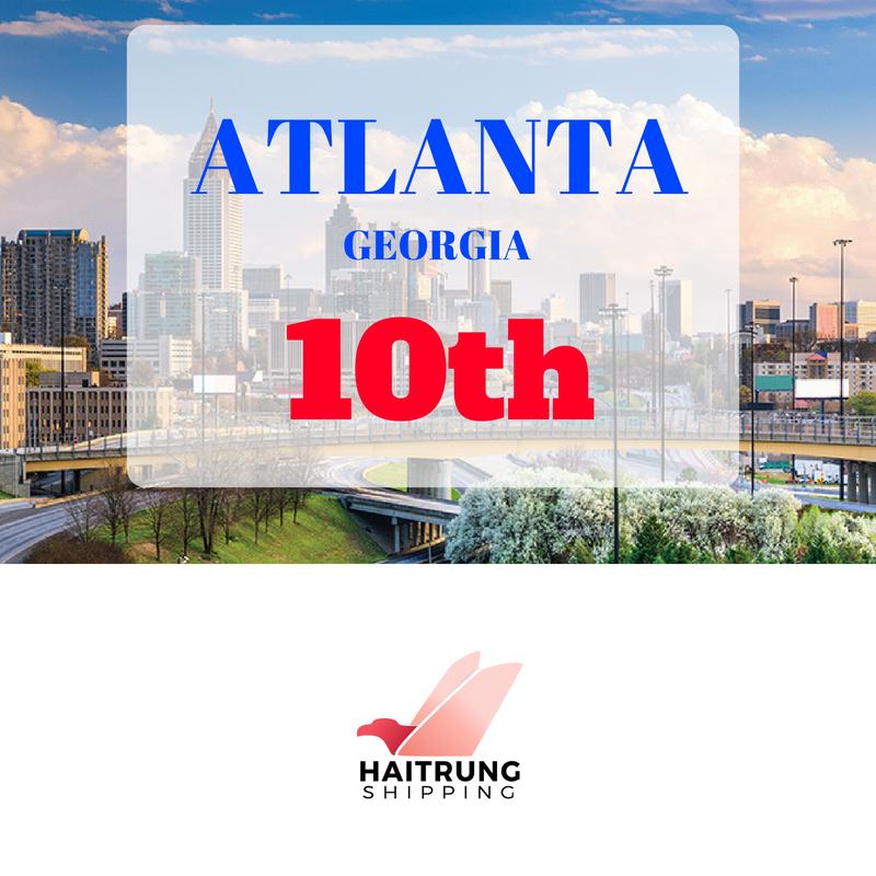 HaiTrung Shipping chào đón đại lý thứ 10 tại Atlanta, GA.