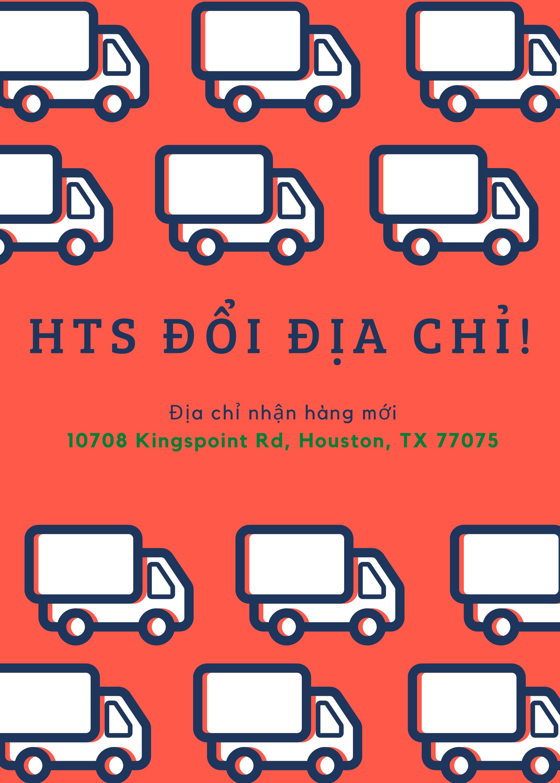 HaiTrung Shipping thông báo đổi địa chỉ kho hàng!