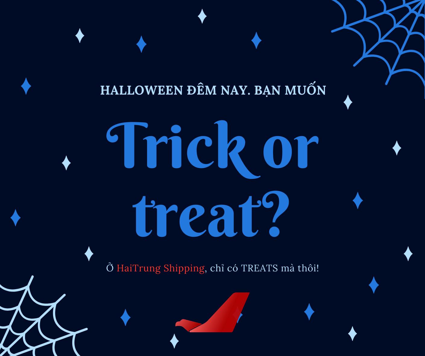 Halloween ngọt ngào cùng Haitrung shipping