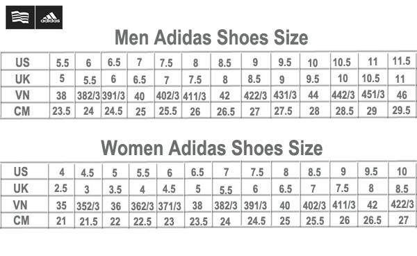 Hướng dẫn cách đo, chọn size giày và bảng quy đổi size giày chuẩn